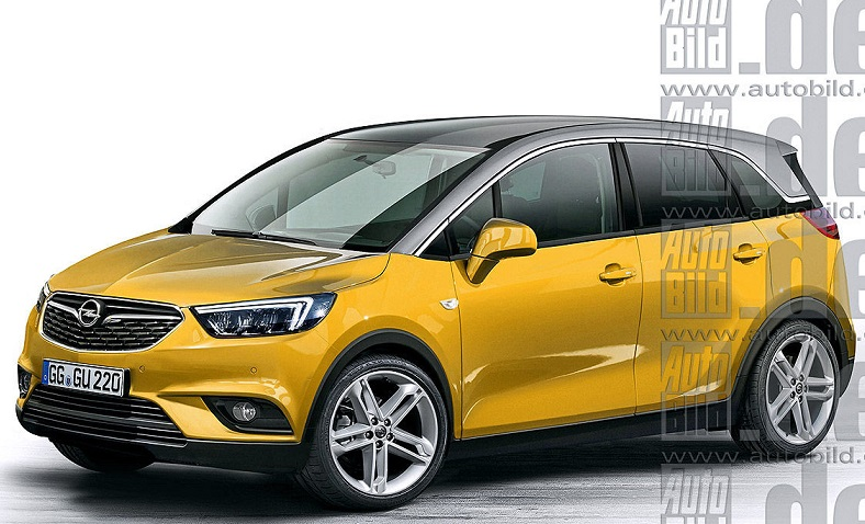 Opel Meriva - новий кроссовер