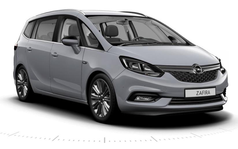 Opel Zafira 2017: новий мінівен
