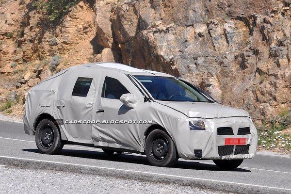 Новий Renault Logan - перші тести