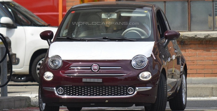 Перші фото нового Fiat 500