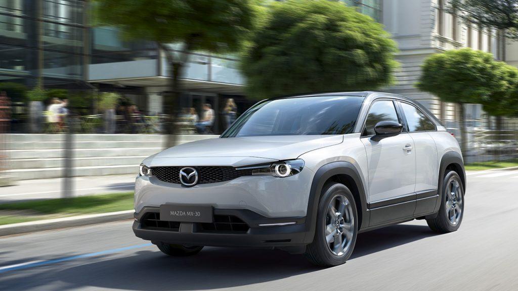 Перший електромобіль Mazda MX-30 виходить на ринок