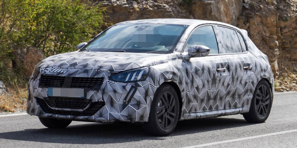 Peugeot 208 нового покоління вперше помічений на тестах