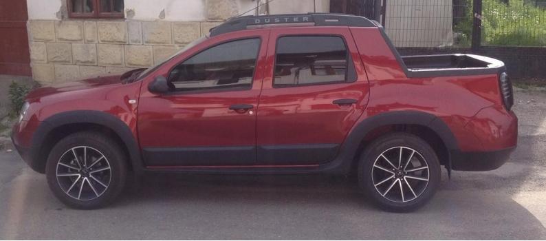 Пікап Dacia Duster з 4-дверною кабіною: нові зображення