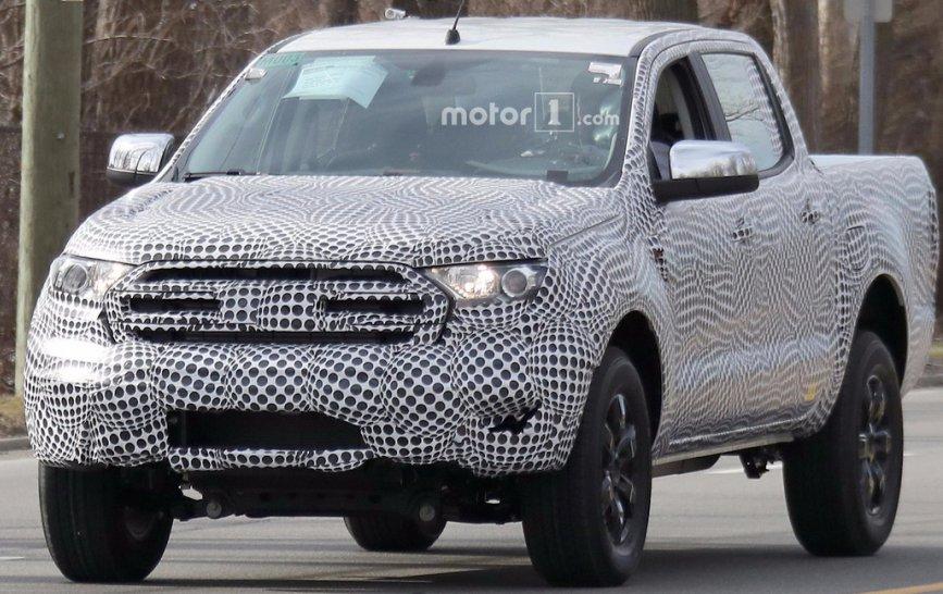 Пікап Ford Ranger 2019 виїхав на тестування