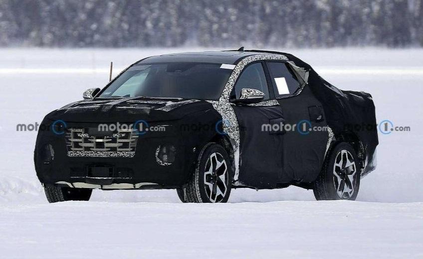 Останні тестування нового пікапа від Hyundai