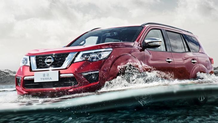Рамний позашляховик Nissan Terra дебютував на нових фото