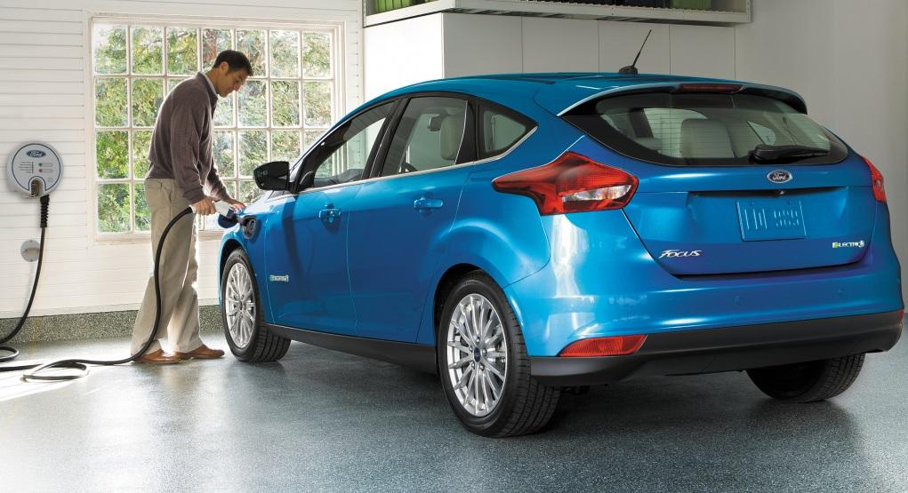 Оновлений Ford Focus Electric 2017 модельного року
