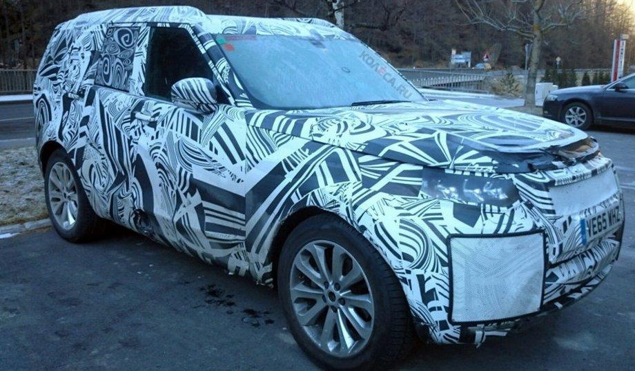 Опубліковані фото «таємничого» Land Rover Discovery