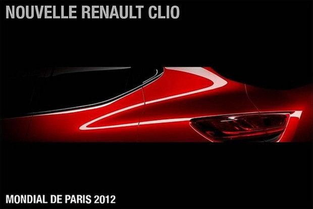 Перший тизер нового Renault Clio