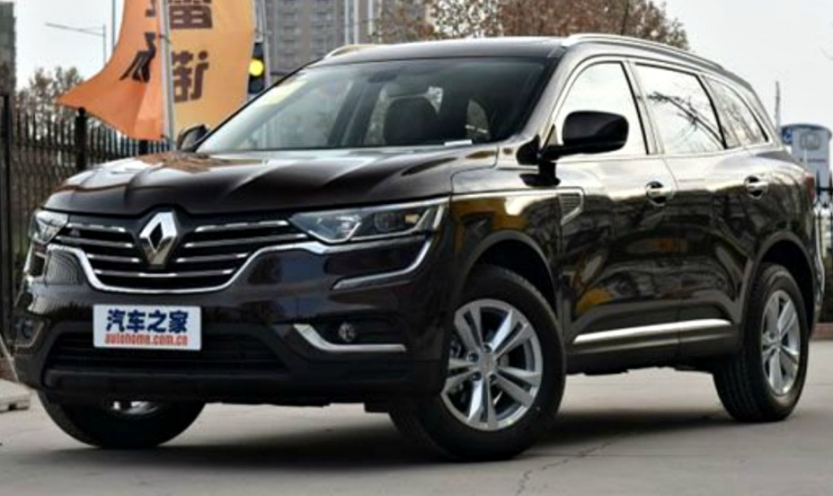 Renault Koleos 2017 року отримав «бюджетну» версію