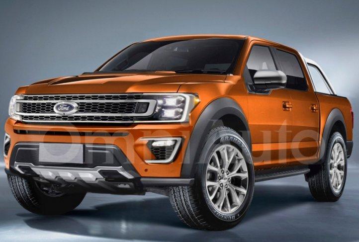 Ford Ranger 2019: перше зображення