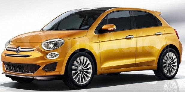 У мережі з'явився перший рендер хэчбека Fiat 500
