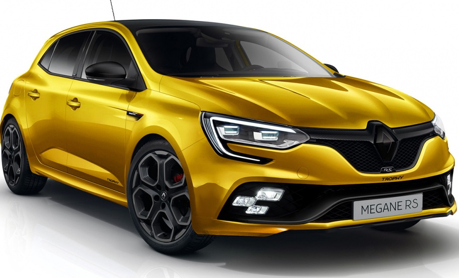 Renault Megane RS 2018 показався на фото