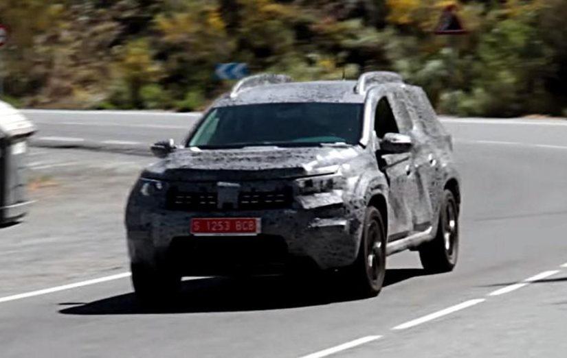 Renault Duster 2018 вперше зняли на відео