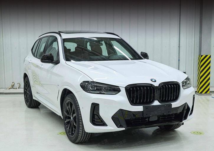 Рестайлінгові BMW X3 і iX3: офіційні фото