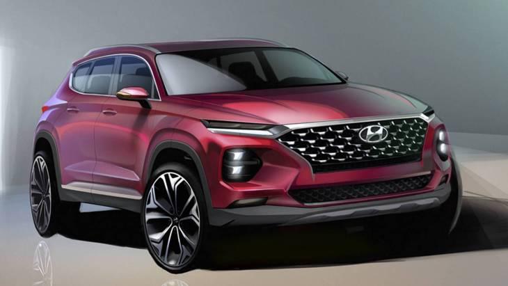 Hyundai розсекретив дизайн нового Santa Fe