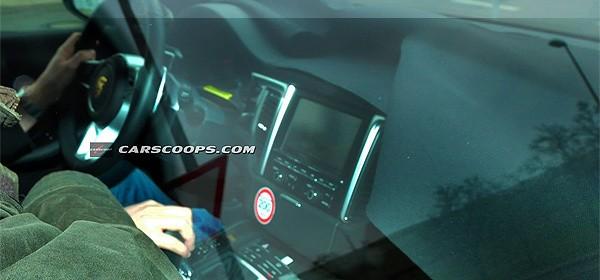 Салон Porsche Macan засвітився в інтернеті