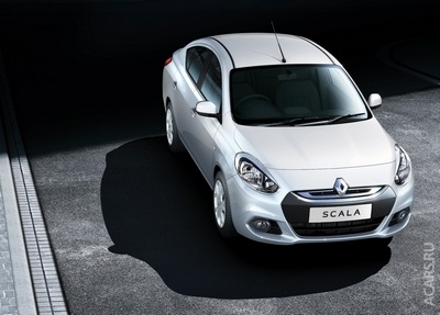 Бюджетнийм седан від Renault