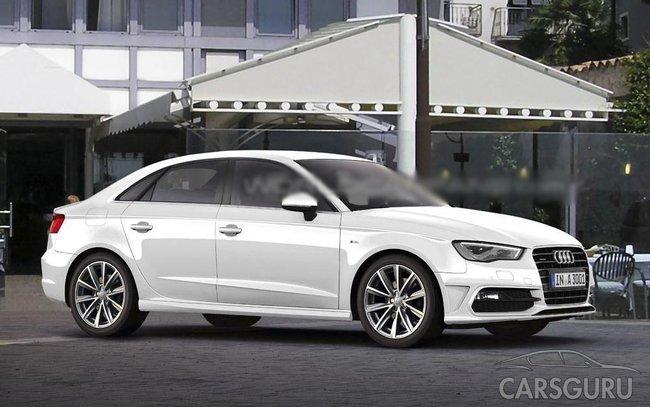 Перший рендер седану Audi A3