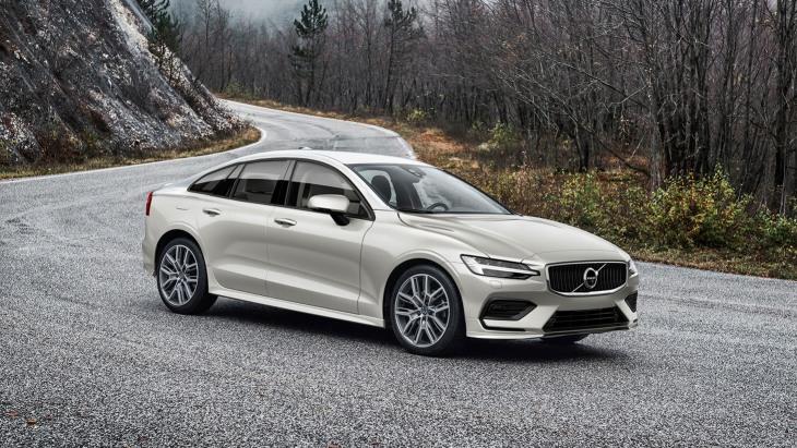 Седан Volvo S60 нового покоління: перші зображення