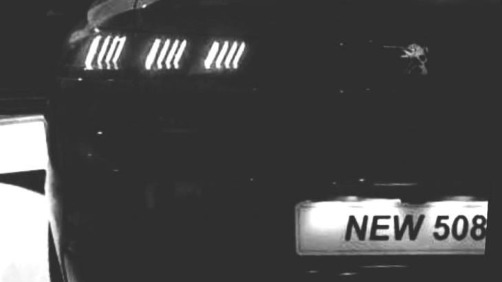 Перші фотографії седана Peugeot 508 2019 року