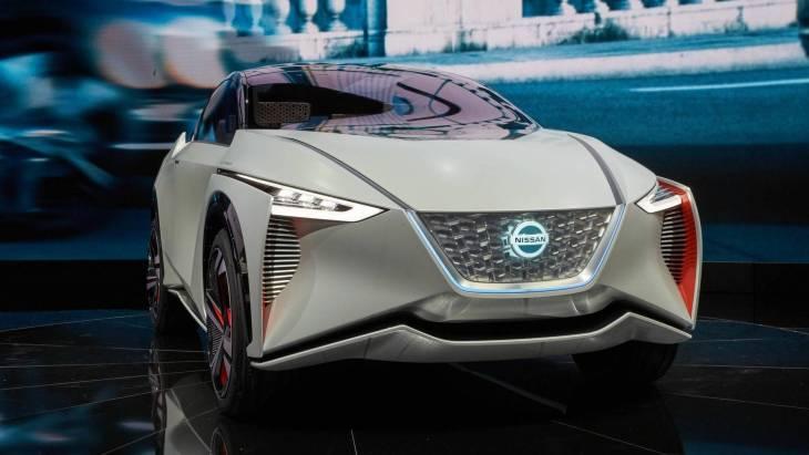 Серійний електрокроссовер Nissan IMx: нова інформація