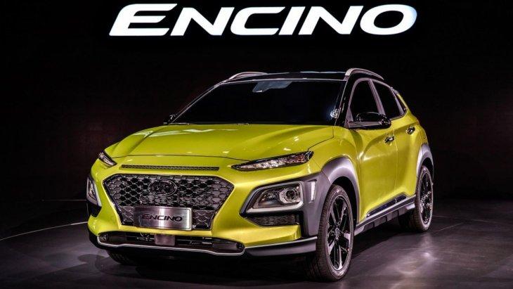 Hyundai представив «новий» компактний кросовер Encino