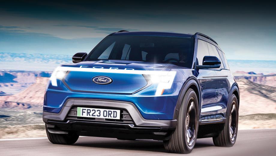 Спільний електромобіль Ford та Volkswagen