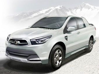 SsangYong SUT 1 - наступник Actyon Sports
