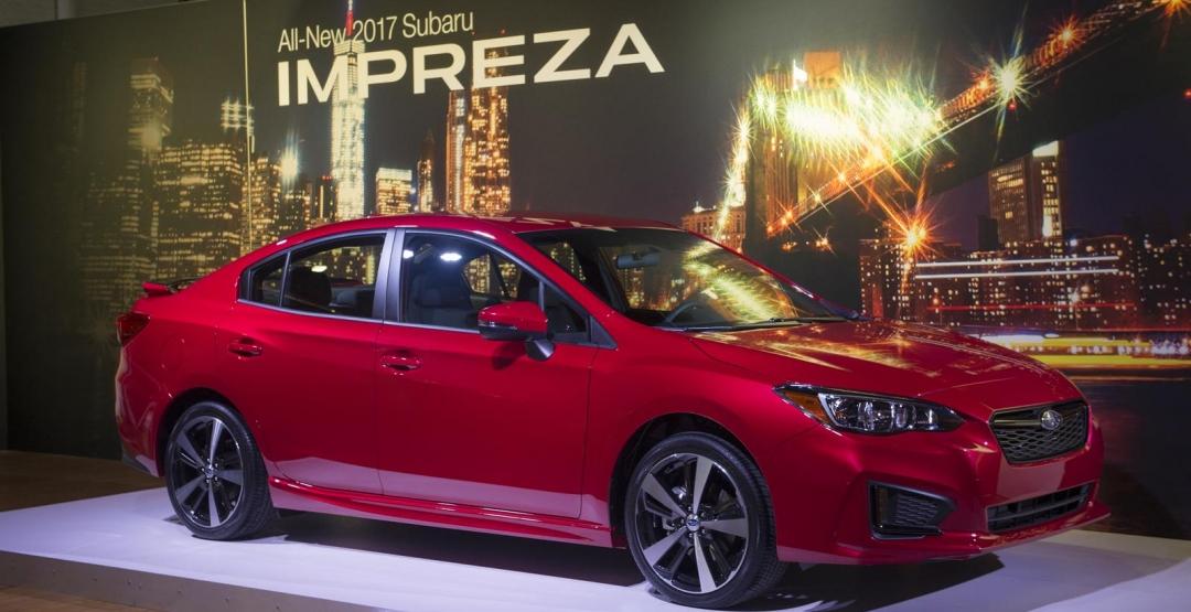Subaru Impreza 2017: офіційні фото від виробника