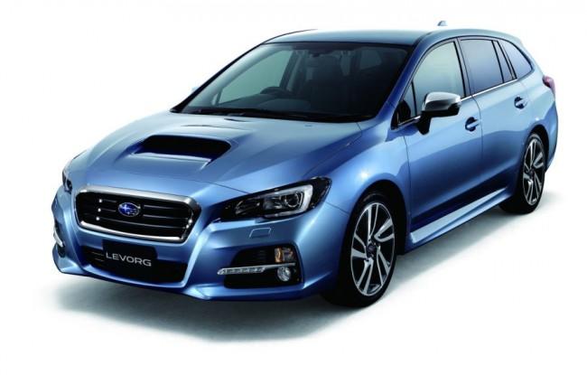 Subaru розсекретила концепт Levorg