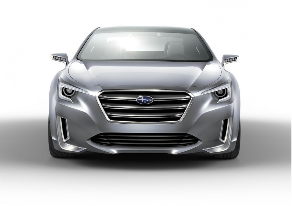 Subaru Outback 2015 готовий до презентації