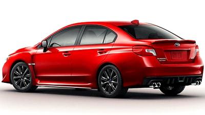 Названо специфікації спортивного седана Subaru WRX