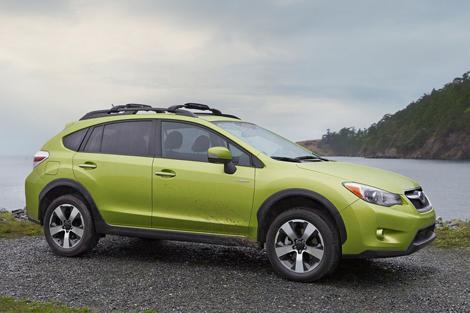 Subaru XV став найекономічнішим повнопривідним гібридом