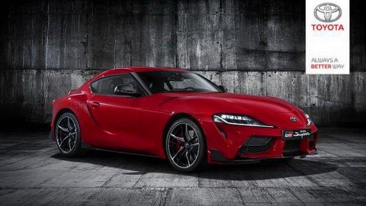 Toyota показала повні фото абсолютно нової Supra
