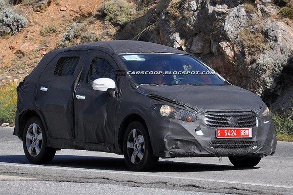 Suzuki тестує новий SX4