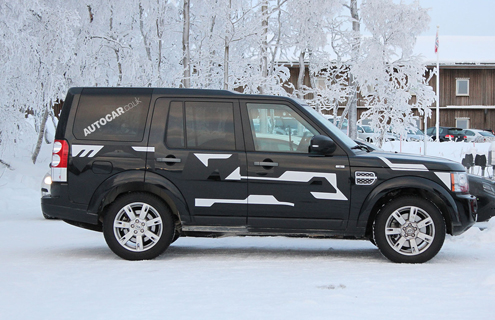 Land Rover проводить тести Discovery 5
