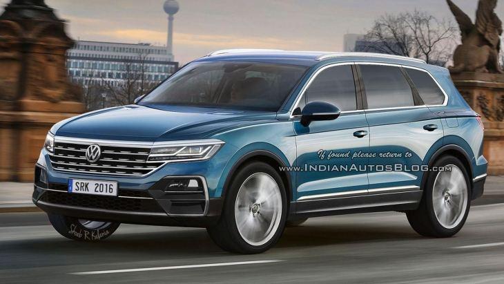 Новий Volkswagen Touareg дебютує навесні 2018 року