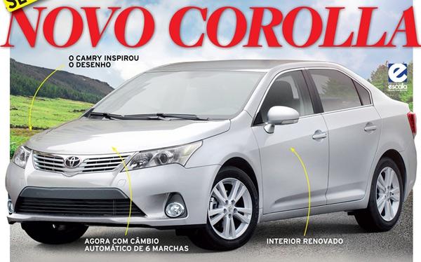 Перші фото нової Toyota Corolla