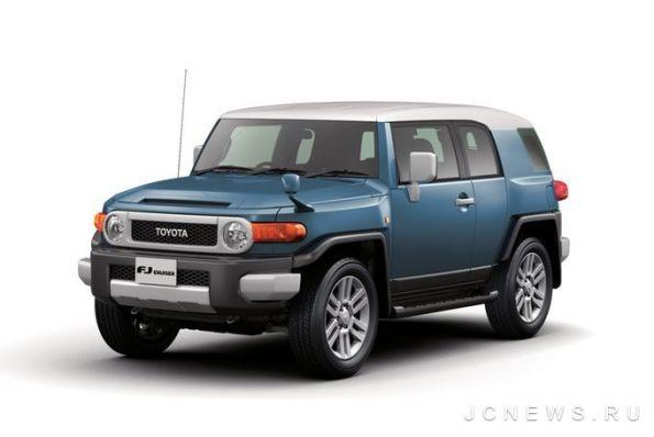Toyota оновлює позашляховик FJ Cruiser
