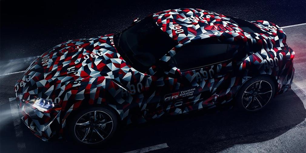 Toyota анонсувала прем'єрну нової Supra