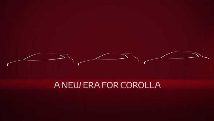 Toyota показала тизер нового седана Corolla
