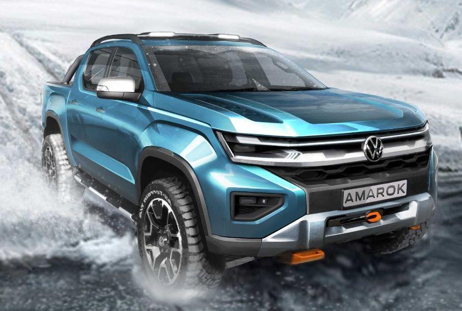 Прем'єри від Volkswagen: нові Transporter та Amarok