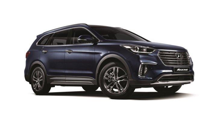 Hyundai модернизировала кросовер Grand Santa Fe