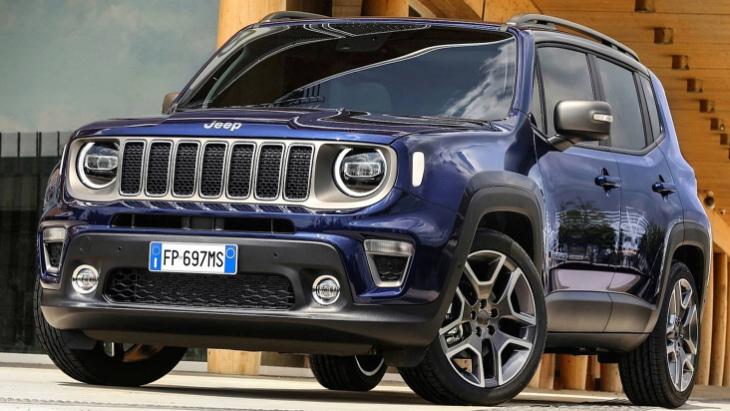 Кросовер Jeep Renegade: нова інформація