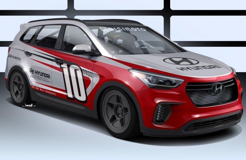 Hyundai Santa Fe отримав 1040-сильний двигун