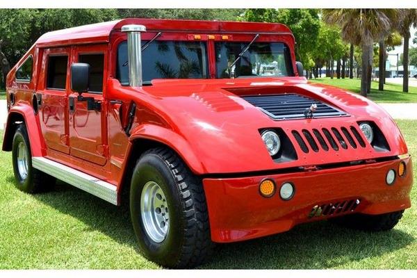 Унікальний Hummer H1 продається на eBay