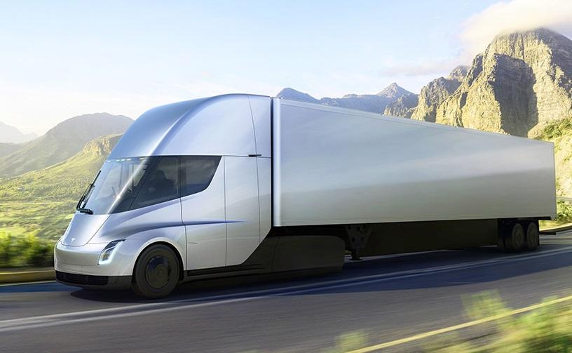Електрична фура Tesla зможе проїхати без підзарядки до 1000 км