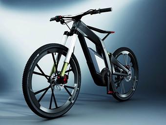 Audi розробила карбоновий велосипед з електромотором