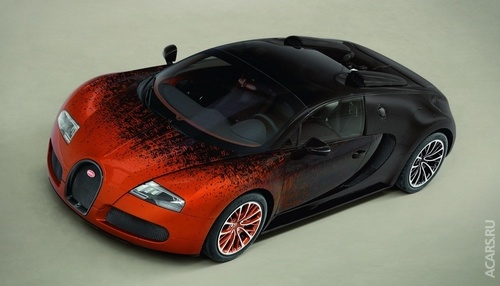 Bugatti Veyron як витвір мистецтва